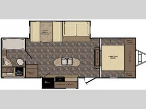 Maple Country MC26RB Floorplan Image