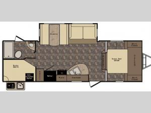 Maple Country MC270BH Floorplan Image