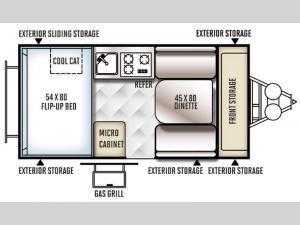 Flagstaff Hard Side T12RBSOR Floorplan Image