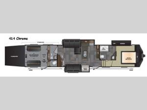 Fuzion 414 Chrome Floorplan Image