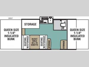 Epic Series 2105ST Floorplan Image