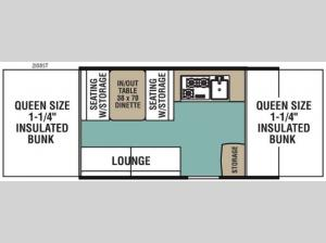 Epic Series 2108ST Floorplan Image
