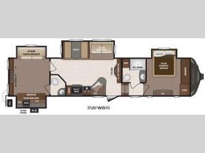 Sprinter 358FWBHS Floorplan Image