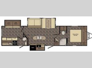 Maple Country MC320BH Floorplan Image