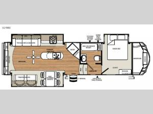 Sandpiper Select 329RE Floorplan Image