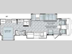 Vacationer 34T Floorplan Image
