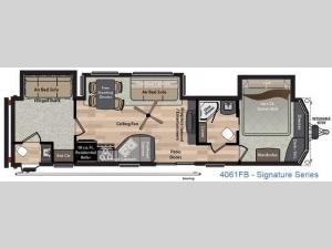 Residence Signature Series 4061FB Floorplan Image