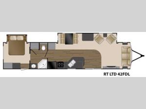 Resort Limited 42 FDL Floorplan Image