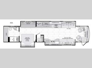 American Dream 45A Floorplan Image
