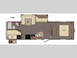 Western Country 27BH Floorplan Image