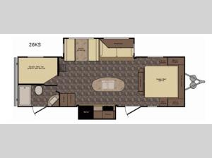 Western Country 26KS Floorplan Image
