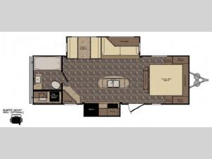 Western Country 26RB Floorplan Image