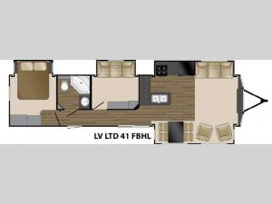 Lakeview Limited 41 FBHL Floorplan Image