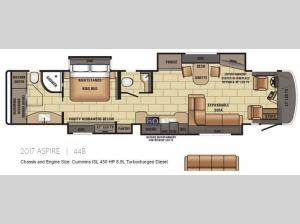 Aspire 44B Floorplan Image
