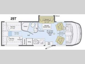 Via 25T Floorplan Image