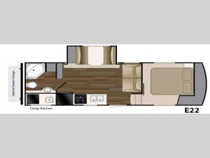 ElkRidge Xtreme Light E22 Floorplan Image