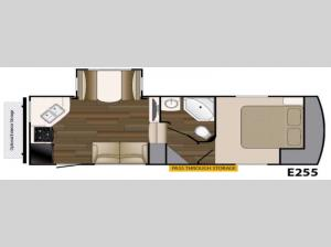 ElkRidge Xtreme Light E255 Floorplan Image