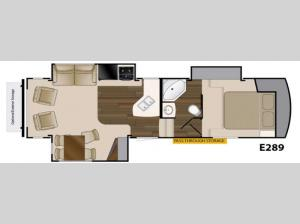 ElkRidge Xtreme Light E289 Floorplan Image