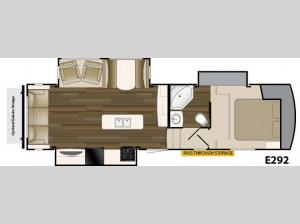 ElkRidge Xtreme Light E292 Floorplan Image
