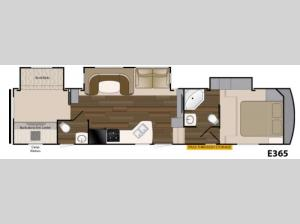 ElkRidge Xtreme Light E365 Floorplan Image
