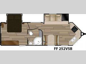Fun Finder XTREME LITE F-252VSB Floorplan Image