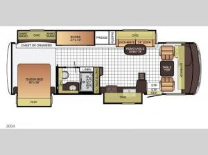 Bay Star Sport 3004 Floorplan Image