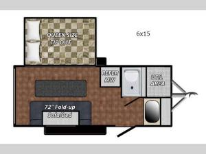Quicksilver VRV 6 x 15 Floorplan Image