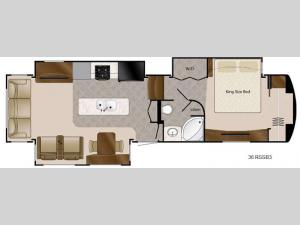 Travel Suites Limited Exploring Edition TS 36RSSB3 Floorplan Image