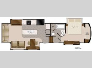 Travel Suites Limited Exploring Edition TS 38RSSA Floorplan Image