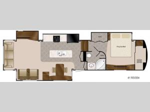 Travel Suites Limited Exploring Edition TS 41RSSB4 Floorplan Image