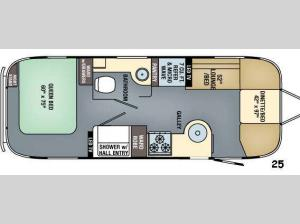Flying Cloud 25 Floorplan Image
