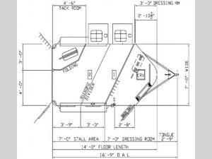 Tradition Series U2HB Floorplan Image