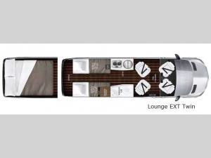 Interstate Lounge EXT Lounge EXT Twin Floorplan Image