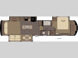 Sequoia SQ38GKS Floorplan Image