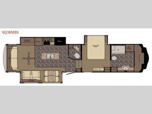 Sequoia SQ38MBS Floorplan Image