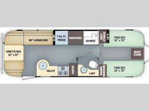 International Signature 27FB Twin Floorplan Image