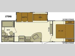 Layton Javelin 275RB Floorplan Image