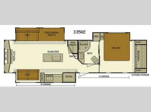 Layton Javelin 335RE Floorplan Image