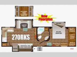 Timber Ridge 270RKS Floorplan Image