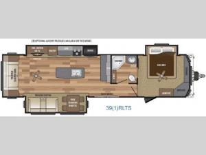 Retreat 391RLTS Floorplan Image