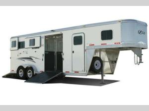 Horse Trailers 7200 SR 2 Plus 1 Floorplan Image