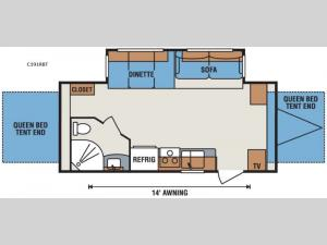 Spree Connect C191RBT Floorplan Image