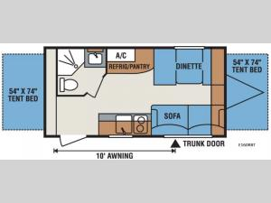 Spree Escape E160RBT Floorplan Image