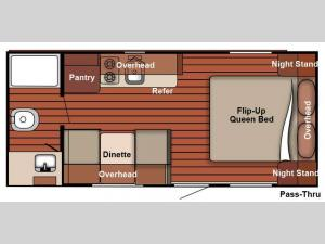 Serro Scotty 188RBR Floorplan Image