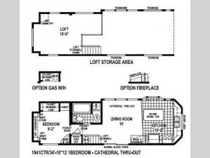Shore Park 1941CTR Floorplan Image