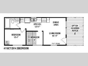 Shore Park 4110B Floorplan Image