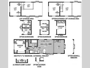 Stone Harbor 500CTP Floorplan Image