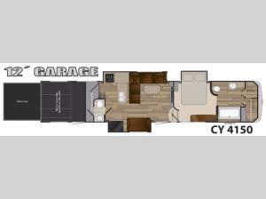 Cyclone 4150 Floorplan Image