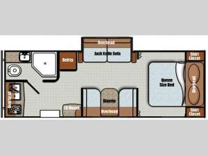 Vista Cruiser 23RBK Floorplan Image
