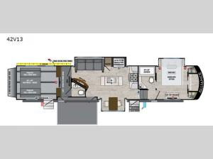 Valor 42V13 Floorplan Image